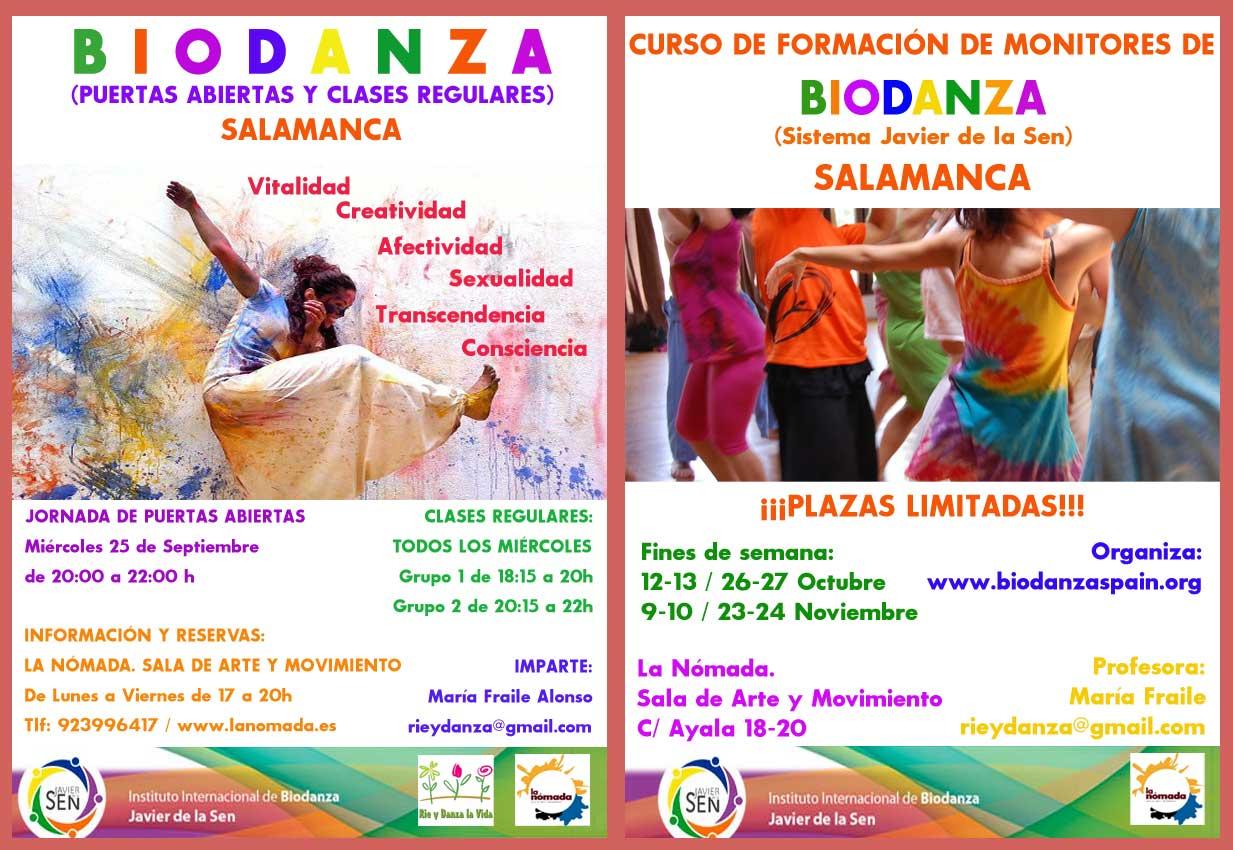 Biodanza en Salamanca