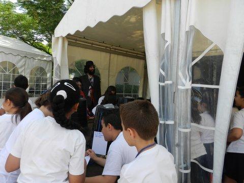 Un año más Lombó en la Feria del Libro de Fuenlabrada