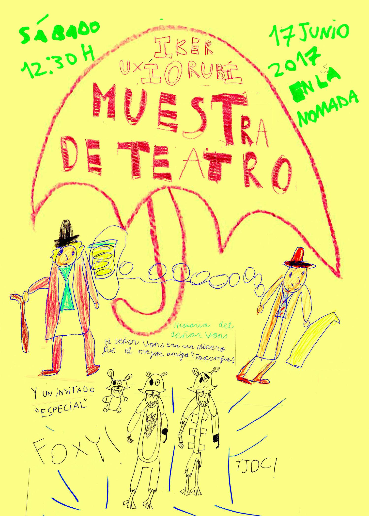 Cartel de la Muestra de los Niños y Niñas