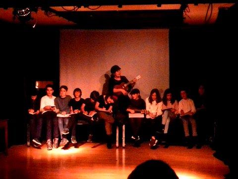 Muestra del grupo de teatro de los peques