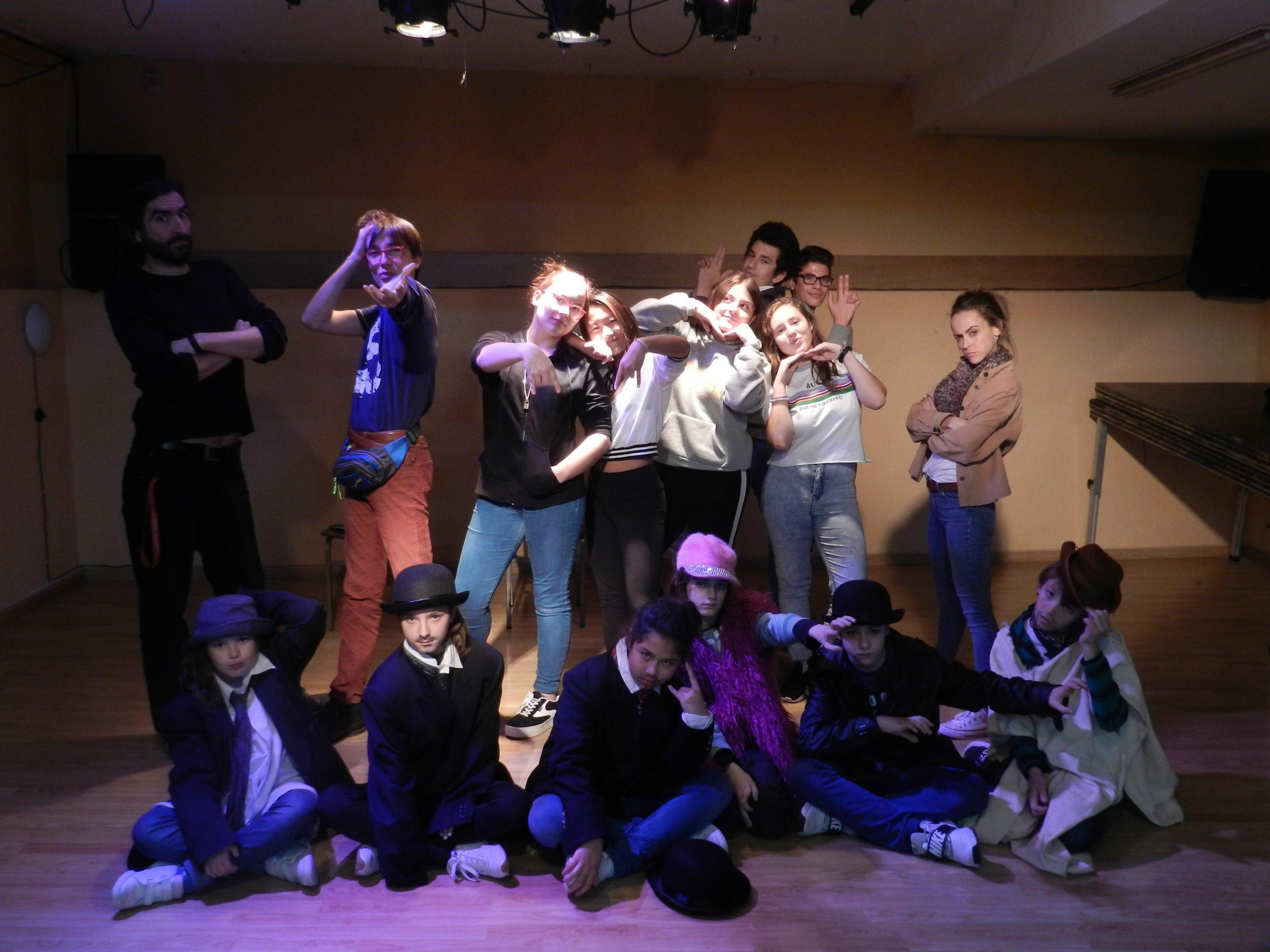 Inscripción abierta para cursos de teatro para jóvenes y niños