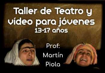 Teatro y video para 13-17 años